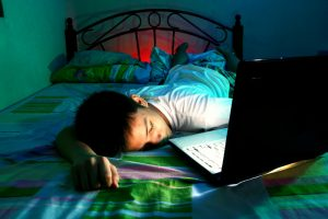 Pandemic sleep issues for teens