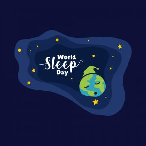 World,sleep,day,vector,design,illustration